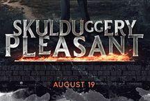 "Skulduggery Pleasant! ❤️ / ""Doors are for people with no imagination."" ~ Derek Landy."