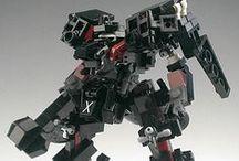Lego Mecha / Lego creations - mecha, robots, etc