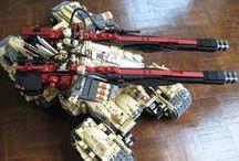 Lego SF Vehicles / Lego - science-fiction, hi-tech vehicles