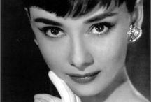 Celebrity-Audrey Hepburn  / Audrey Hepburn, born Audrey Kathleen Ruston, May 4, 1929 in Ixelles, Brussels, Belgium and died January 20, 1993, Tolochenaz, Vaud, Switzerland of appendiceal cander at age 63. / by Debbie Gentry