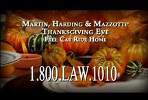 Free Holiday Cab Ride Home Program / We provide free cab rides home on national drinking holidays in certain parts of NY, MA and VT. http://bit.ly/11wpk60 / by Martin, Harding & Mazzotti, LLP
