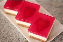 recepten met een hartvorm / voor Valentijnsdag of Moederdag