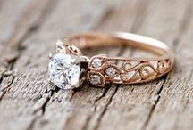 A Rose (Gold) By Any Other Name / Rose gold engagement rings and other pretty jewelry