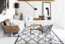 LIVING ROOM / Home decor tips and tricks, furniture and style inspiration for the dream living room.