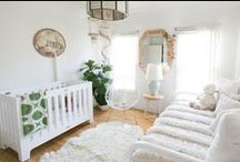 NURSERY / The top nursery decorating tips to create a sweet little space for your little one.