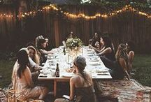 OUTDOOR DINING / Outdoor dining ideas & inspiration ready for alfresco dining.