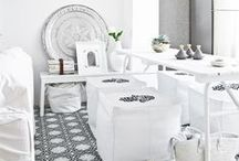 ALL WHITE / These all-white rooms are anything but boring. Here's how to create the dazzling look.