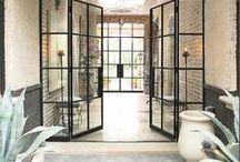 DREAMY DOORS / Dazzling front door inspiration to welcome you home.