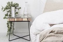 SIDE TABLES / Side tables are a practical necessity in your home. Here are some chic tips and inspiring ideas for your side table.