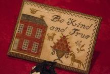 Cross Stitch 2 ~ Littles & Smalls / Smaller designs and patterns, pinkeeps, pincushions, needlebooks and bookmarks