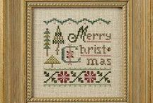 Cross Stitch 5 ~ Christmas / Christmas designs, patterns and freebies. Includes solo Winter designs.