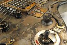 steampunk guitars / electric steampunk guitars