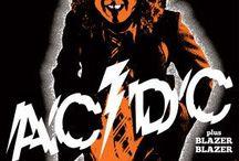 AC/DC / b&w AC/DC pictures