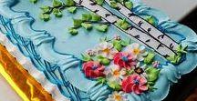 wykończenie brzegu torta