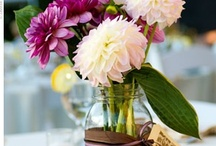 Table setting & centerpiece & party ideas