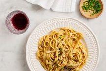 Pasta Recipes / Pasta recipes -- easy pasta recipes -- healthy pasta recipes -- vegetarian pasta recipes -- homemade pasta.