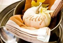 Thanksgiving Inspiration / Ideas for Thanksgiving....crafts, diy, table setting, decorations, printables and more.
