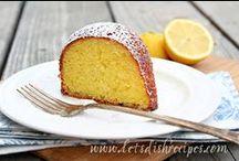 Lemon Recipes / Lemon recipes -- lemon cakes -- lemon cookies -- lemon pies -- lemon desserts -- lemon recipe ideas.