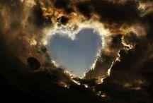 Cloudy sky, sunny heart