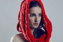 Pretty chic!  / Las bufandas y complementos más atrevidos!