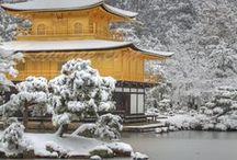 Le Japon en hiver / Découvrez Kyoto, l'ancienne capitale sous un manteau de neige.