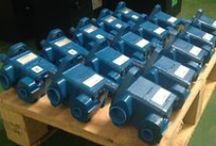 Hydraulic Pumps / We supply a wide range of hydraulic pumps including: Gear pumps, rotary vane pumps, fixed displacement pumps / screw pumps, bent axis piston pumps, axial piston pumps, radial piston pumps. Here's a selection taken from recent shipments...