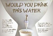 Water Conservation / Saving our world's water supplies one drop at a time!
