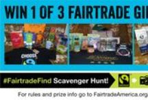 #FairtradeFind Scavenger Hunt! / Take a pic - share it online - win prizes!  Details: http://fairtradeamerica.org/fairtrade/competition / by Fairtrade America