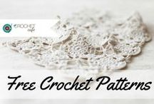Free Crochet Patterns - Collaboration Board / Free Crochet Pattern Links For an invite, please follow this board and send an email to thecrochetclubcafe@gmail.com / by The Crochet Cafe