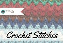 Crochet Stitches / Crochet Stitches Collaboration Board ** Send an email to thecrochetcafeclub@gmail.com to be added.