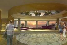 Proyecto para el Hotel Servatur Green Beach / Hotel situado en Gran Canaria, en la Playa de Patalavaca, Mogán. Proyecto para la reforma de la zona de hall, recepción y comedor del Hotel Servatur Green Beach, redactado como Tesis final del Máster de Diseño de Interiores del IED (Instituto Europeo de Diseño).