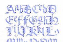 Handmade Alphabets