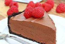 No Bake Dessert Recipes / Delicious no bake dessert recipes -- no bake pies -- no bake mousse -- no bake cheesecake recipes and more.