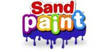 Sand Paint - Color your sand creations! / Sand Paint is a water-based (acrylic) paint for all types of play sand. Paint free-hand straight from the jar, or use it with foam dabbers to create fun textures. Create your own masterpiece using a rainbow of standard colors plus glitter, neon and metallic.