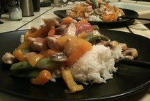 Stir-Fry / Asian stir-fry is an easy and tasty meal for anytime of the year. / by Brianna Briggs
