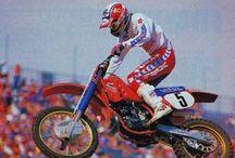 Ricky Johnson / Classic motocross photos of Ricky Johnson / by Helmet Man