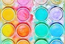 ♕ PaLLeTteS & SwATcHeS / Colors ROCK!