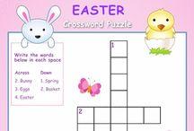 Easter Worksheets/Printables