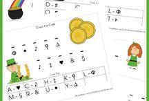 St. Patrick's Day Worksheets/Printables