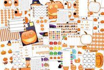 Halloween Printables/Worksheets