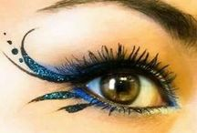 Beauty / Cool eye makeup etc