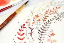 Ilustración y Diseño / by The Little Girl Smiling (Esther Sjc)