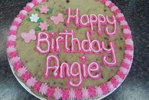 Happy Birthday Angie / happy b'day angie  I hope you have the best birthday ever. Have fun being a fourteen year old:) love you Angie pangie           xx      sezzy bezzy