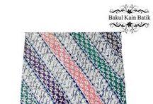 Batik Cap modern / koleksi kain batik cap motif klasik dengan warna modern