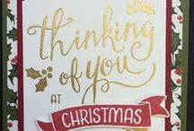Holiday Catalogue 2016 / Christmas Stampin Up Cards