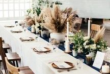 Fall Table Setting Inspiration / Thanksgiving, Fall, Table setting tips, Dinner inspo, Table decor, holiday decorating.