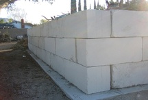 Concrete Bunker Blocks / Bunker blocks from Sprague's Ready Mix are ideal for giving your stockyard, commercial project, landscaping, or industrial yard a cleaner, more organized space.