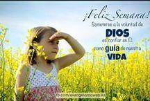 Feliz Semana / IASD / by Iglesia Adventista del Séptimo Día