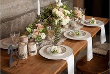 tablescapes / by Toni Roeller