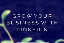 LinkedIn  / Leveraging LinkedIn for your small business.